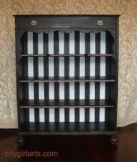Bookcase Redo on Pinterest | Bookcases, Closet Space and ...