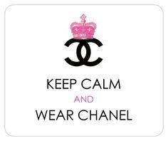 Coco Chanel art print logo fashion poster Wall decor