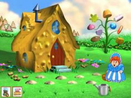 Image result for peanut brittle house from candy land