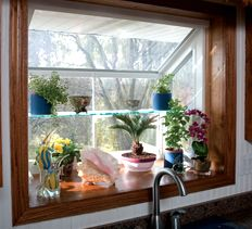 Greenhouse Windows Kitchen #Garden Window For Kitchen Kitchens