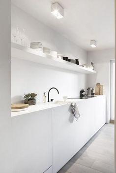 Minimalist white kit