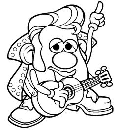 1000+ images about Elvis coloring pages... on Pinterest