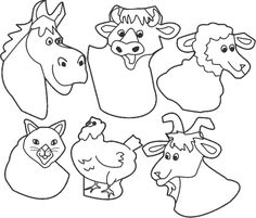 1000+ images about Farm Animals Preschool on Pinterest