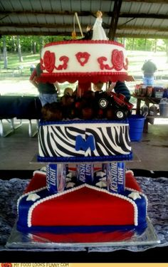 1000 images about Redneck Wedding Cakes  Toppers on