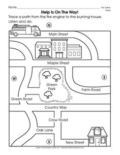 Check out this worksheet from our map skills page to help