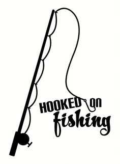 Fish hook pattern. Use the printable outline for crafts