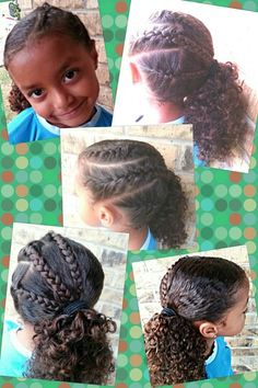 Biracial Hairstyles Miami Life Magazine Pinterest Mores And