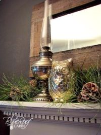 Oil Lamp Decor on Pinterest