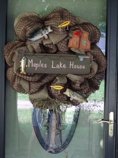 1000 Images About Fishing Beach Wreaths On Pinterest