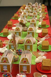 Decorate Gingerbread House Party House Interior
