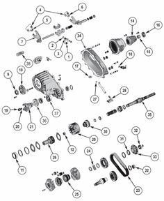 1000+ images about Jeep Transfer Case Parts on Pinterest