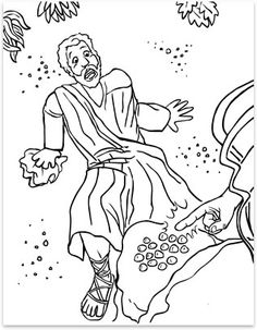 Coloring pages Lesson 34: Always Tell the Truth To