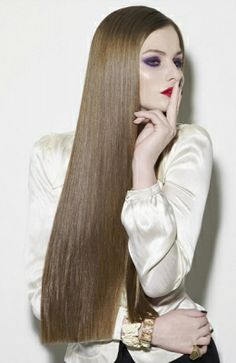 Poker Straight on Pinterest Straight Hair  Catwalks and