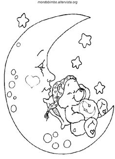 Perfect coloring page activity for a sleepover. Whether