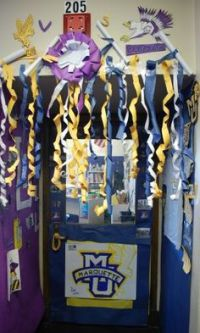 cheer camp door contest cute idea | CHEER! | Pinterest ...
