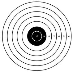 Archery, Scores and Paper targets on Pinterest