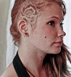 1000 images about shaved designs on pinterest undercut shaved sides and colored hair styles