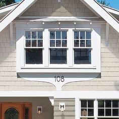 exterior whimsical window trim
