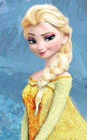 elsa frozen with earings