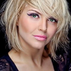 Frisuren On Pinterest Nicole Gale Anderson Blond And Bobs