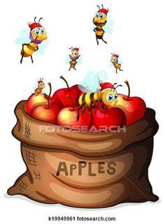 1000 apple art