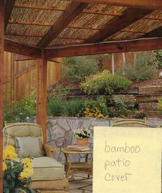 Bamboo Pergolas Covering Design Bamboo Covers Ideas For