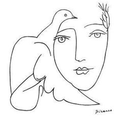 Line drawings, Pablo picasso and Drawings of on Pinterest
