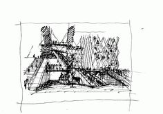 Sketches, People sketch and Architecture sketches on Pinterest
