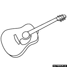 Xylophone musical instruments coloring pages for kids