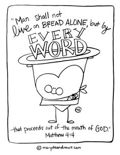 servant of all Mark 10:44-45 printable coloring page