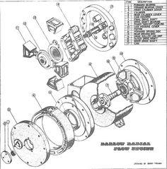 1967-75 V8 ENGINE BLOCK (EXC. 1975