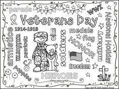 Veterans day, First page and Summary on Pinterest