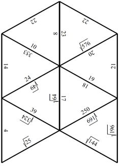 Tree of Right Angles (A Pythagorean Theorem Activity