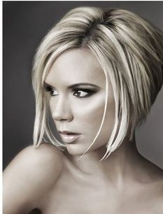Frisuren Mittellang Stufig Bilder Bob Frisuren Pinterest