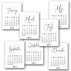 Planners, Calendar printable and Calendar on Pinterest