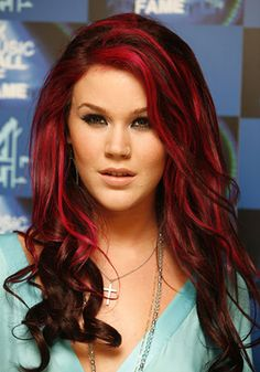 Trends For > Black Red Ombre Hair Hair Pinterest Red <br