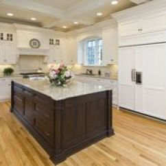 Nantucket Polar White Kitchen Cabinets Self Sharpening Knife Cabinets- By All Wood ...