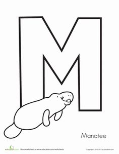 Another FREE Coloring Page~manatee http://visitwestvolusia