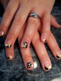 Nails on Pinterest | Cool Nail Art, Barbie and French Nail Art