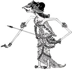 1000+ images about wayang kulit tattoo on Pinterest