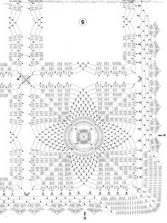 Crochet Tablecloth Diagrams, Crochet, Free Engine Image