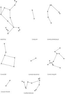 Create your own constellation tubes. Explore the sky, talk
