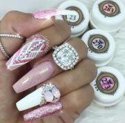 1000 ideas diamond nail