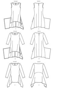 Practical Worksheet for Tunic Construction by Cynthia