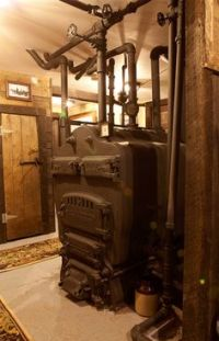very old coal stoves | COAL FURNACE USE 1800s and 1900s ...