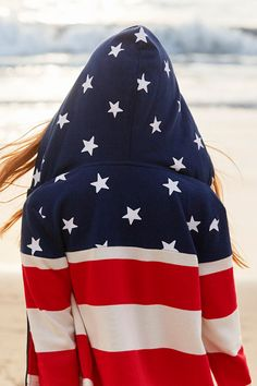 A stars-and-stripes