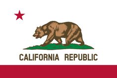 Free California flag