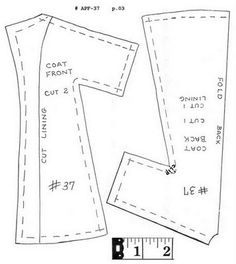 Free printable sewing pattern and tutorial for making Ken