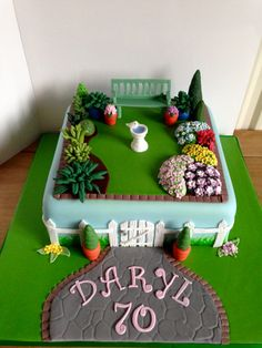 Amazing And Unique Birthday Cake Gardens Cakes And Inspiration