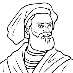 World History Coloring Pages Printables Chaucer and